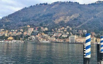 Weekend sul lago di Como in inverno