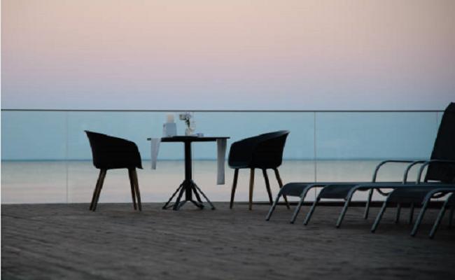 cena romantica al mare