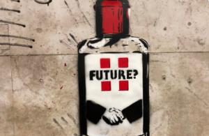 street art e coronavirus di Future